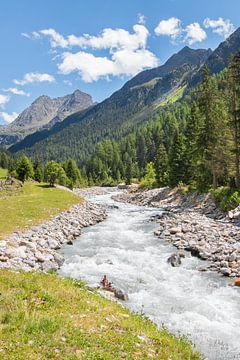 Bergen van Tirol, Oostenrijk. van Aukelien Minnema