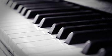 Piano toetsen close-up von Hans Wijnveen