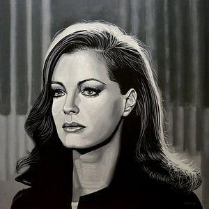 Romy Schneider Malerei von Paul Meijering