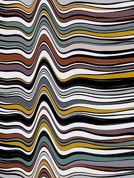 Abstracte samenstelling 904 van Angel Estevez