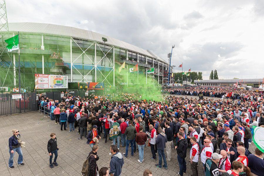 Stadion Feyenoord / De Kuip Kampioenswedstrijd I van Prachtig Rotterdam