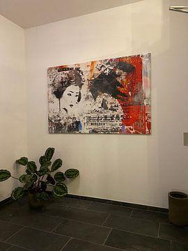 Klantfoto: Monarch Geisha van Teis Albers