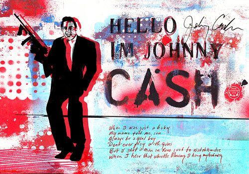 Hello I'm Johnny Cash #1 van