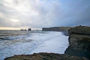 Iceland oceanview van