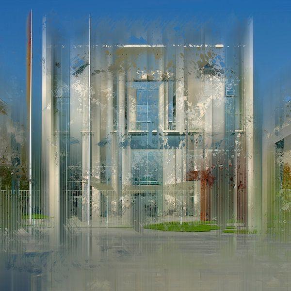 City-Art BERLIN German Chancellery  van Melanie Viola