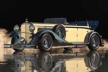 La Maybach DS8 Zeppelin 1935 est une voiture de luxe. sur Jan Keteleer