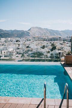 Schwimmen in Muscat von Katrien Joossen