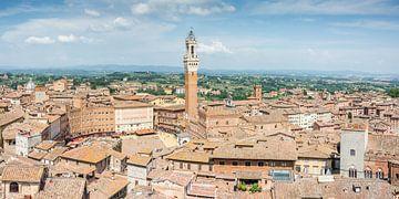 Uitzicht over Siena 2 van Kok and Kok