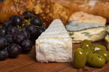 Plateau de fromage nature morte sur Ineke Huizing