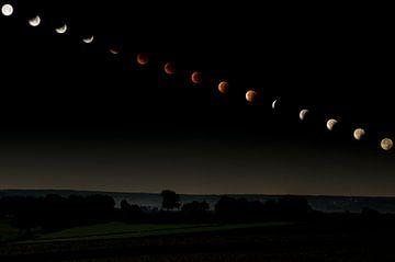 Lunar Eclipse Sequence van Peter Lambrichs