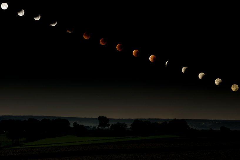 Lunar Eclipse Sequence von Peter Lambrichs
