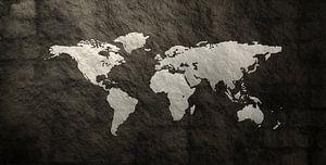 Textur-Weltkarte