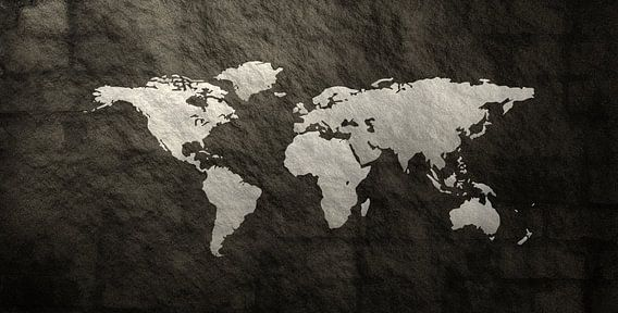 Textuur Wereldkaart