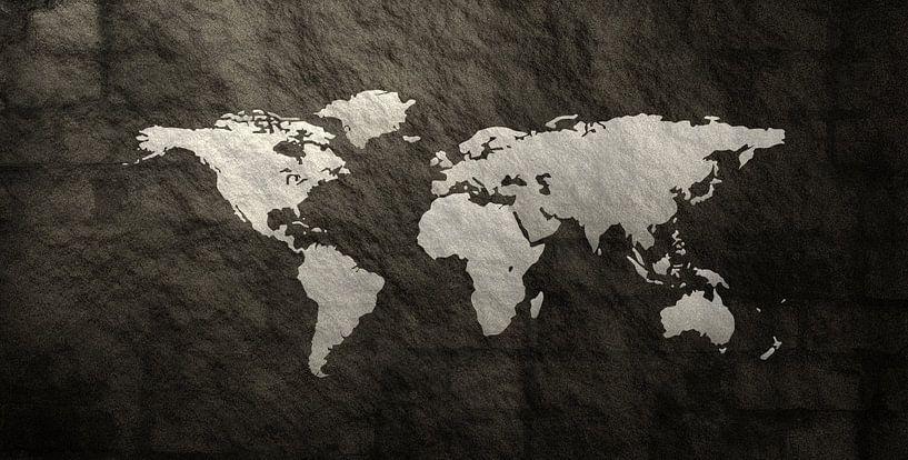 Texture Carte du Monde sur World Maps