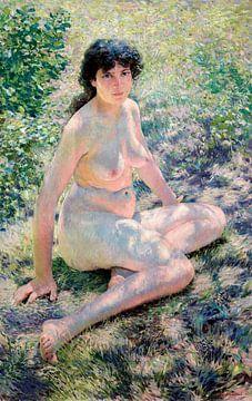 Juli, Aktmodell, Otto H. Bacher (1893) von Atelier Liesjes
