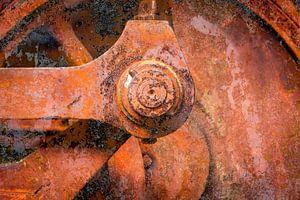 oude stoomlocomotief van Eugene Winthagen