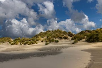 Strand op Terschelling van Sander Groenendijk