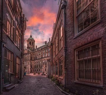 Amsterdamse straat van Mario Calma