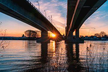 Unter der Nibelungenbrücke von Christian Klös