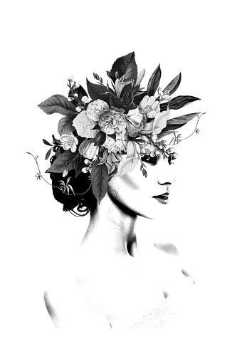 Floral III van