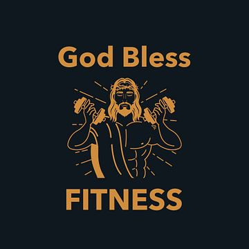 God zegene Fitness van Felix Brönnimann