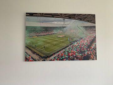 Kundenfoto: Feyenoord - Heracles von Willem Vernes
