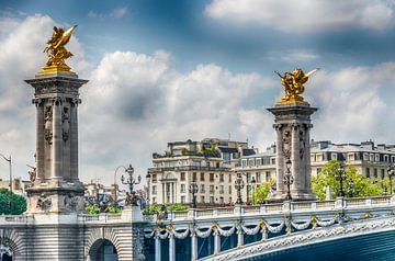 Pont Alexandre III Paris von Grietje Houkema