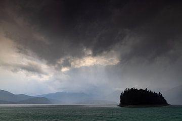 Gewitterstimmung am Walchensee