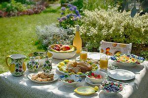 Italiaans genieten in de tuin van