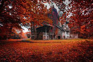 Fall Autum kasteel