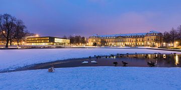 Landtag und Neues Schloss in Stuttgart von Werner Dieterich