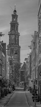 Der schönste Turm Amsterdams von Peter Bartelings Photography