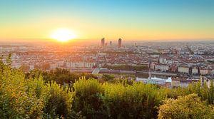 Couleurs du matin sur Lyon
