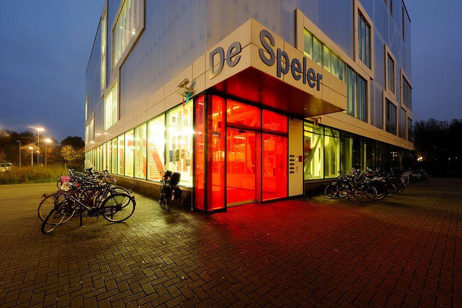 Buurtcentrum De Speler aan de Thorbeckelaan in Utrecht
