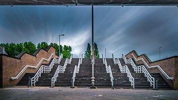 De trappen bij De Kuip