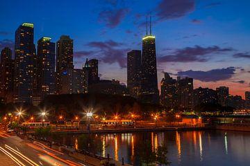 CHICAGO Sunset II sur Melanie Viola