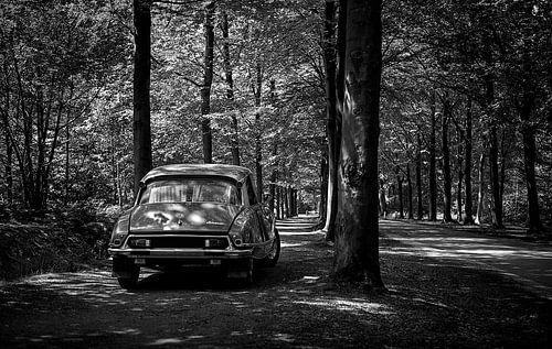 Citroën DS 23 Pallas zwart-wit