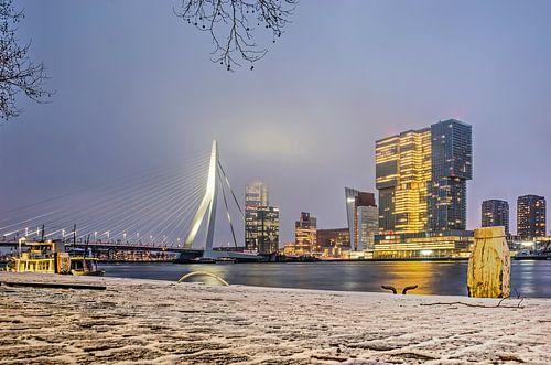 Winter am Wilhelmskai von