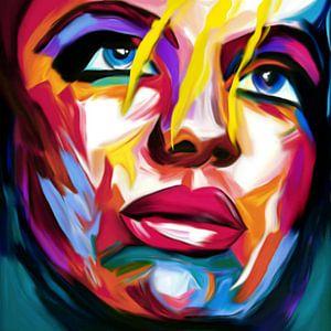 Just Face 04 Pop Art
