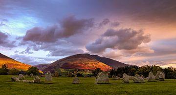 Steinkreis von Castlerigg, England von Adelheid Smitt