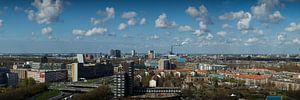 Skyline Amsterdam West panorama