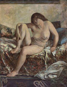 Weiblicher Akt, EMIL ORLIK, Wohl 1920 von Atelier Liesjes