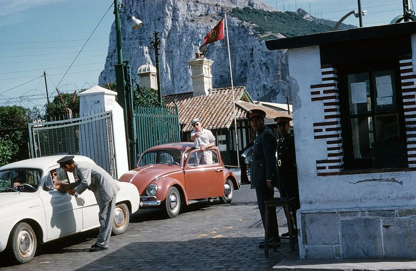 Vintage Gibraltar van Jaap Ros