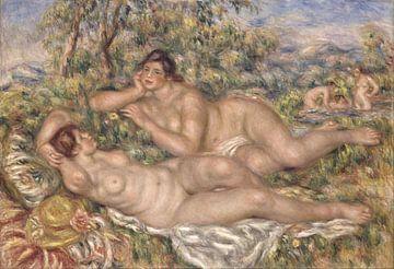 August Renoir.  De baadsters van