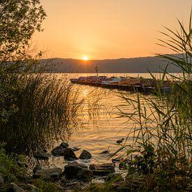 Laach-meer van Heinz Grates