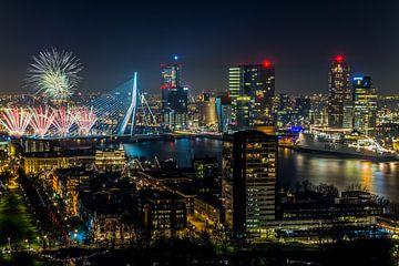 Feux d'artifice nationales 2014 à Rotterdam sur MS Fotografie | Marc van der Stelt