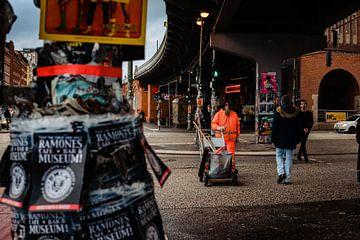 Het straatleven van Berlijn van Martijn de Voogd
