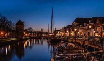 Vue du canal thoracique de Zwolle sur Michel Knikker