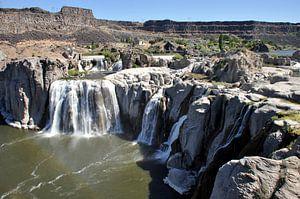 Shoshone watervallen Amerika van