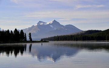 Maligne Lake Canada van Jurgen Hermse